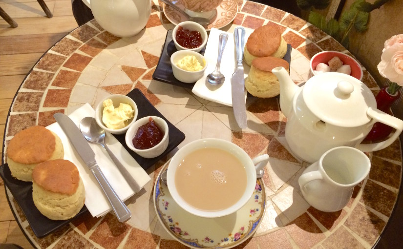 Europa 2014 – Londres : Un buen té inglés en Camellia's Tea House