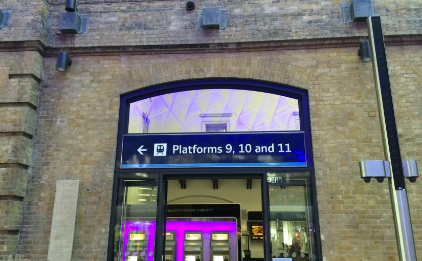 Europa 2014 – Londres : Atravesando la Plataforma 9 ¾
